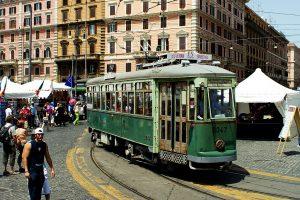 Roma tour in Tram STORICO 2047 Numero posti a sedere: 30