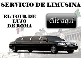 Banner Limousine spagnolo