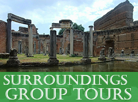 Sorrounding Group Tours tour in rome - Home - Tour in Rome