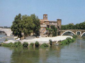 Isola Tiberina a piedi, Roma [object object] - Roma isola tiberina01 300x223 - Isola Tiberina a piedi, Roma