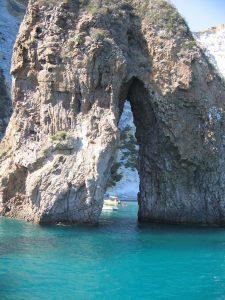 Ponza Island Tour [object object] - Stone arch Ponza   Italy 225x300 - Ponza Island Tour