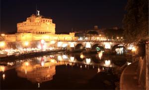 Tour Roma di Notte tour roma di notte - Rome   Castel and Ponte SantAngelo by night 0966 300x182 - Tour Roma di Notte