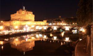 [object object] - Rome   Castel and Ponte SantAngelo by night 0966 e1437459695952 300x182 - Экскурсия Ночной Рим