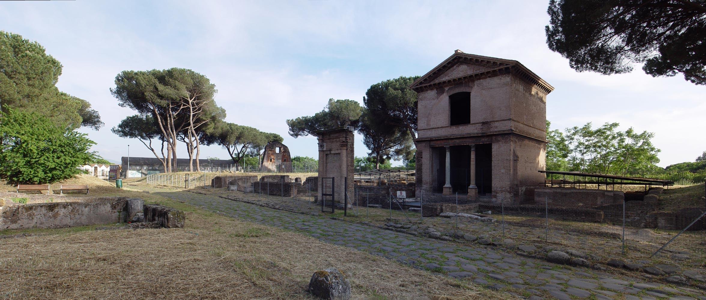 parco delle tombe di via latina - Roma Parco delle tombe di Via Latina - Parco delle tombe di Via Latina