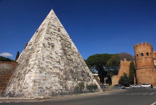 piramide cestia - Roma Piramide Cestia - Piramide Cestia