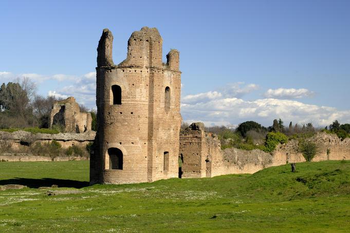 villa di massenzio e mausoleo di romolo - Roma Villa di Massenzio e Mausoleo di Romolo - Villa di Massenzio e Mausoleo di Romolo