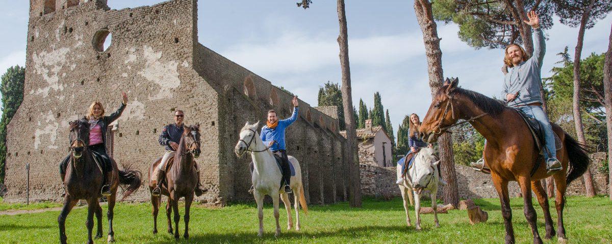 - Rome Appian Way Horse Riding Tours
