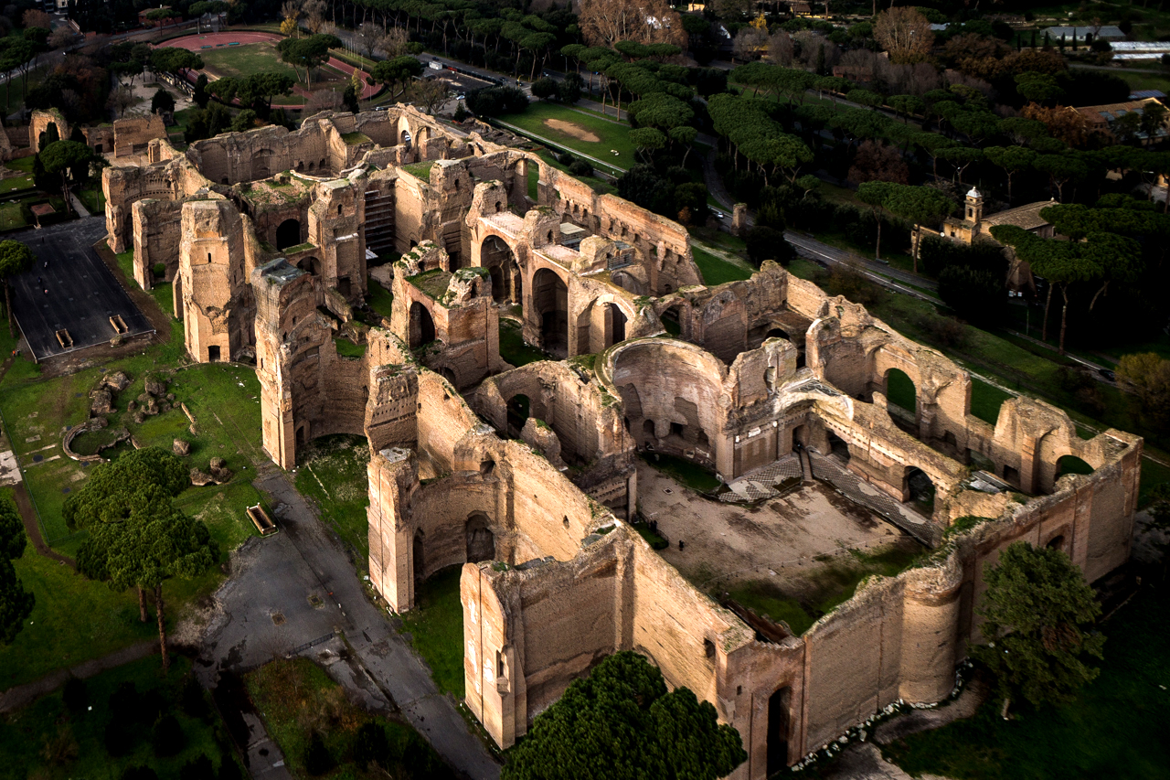 Rome Bath Of Caracalla U2013 Circus Maximus U2013 Colosseum Tour Great Pictures