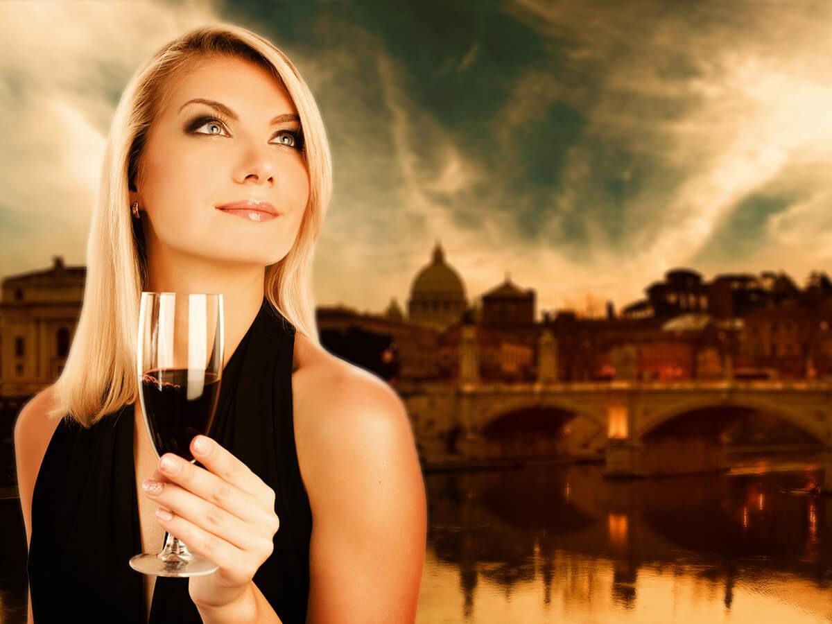 Tasting in Rome