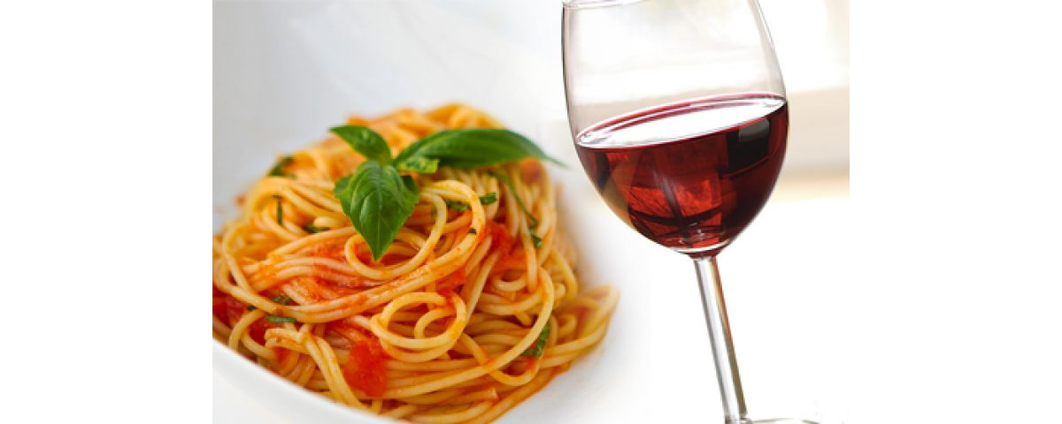 rome half day food tour - Vino e pasta 1200x480 - Rome Half Day Food Tour – Rome Morning Food Tours