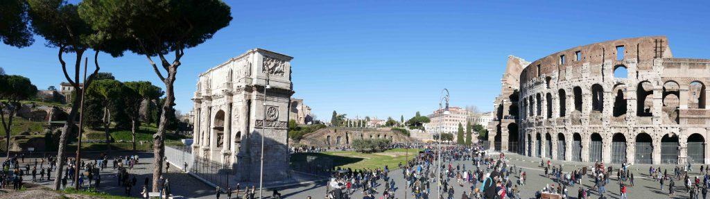 Tour di Roma e visite guidate personalizzate. Tour a Roma per gruppi o individuali tour a roma - Rome Colosseo Home 1024x287 - Tour a Roma – Home Page