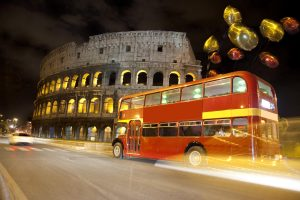 rome tours in limousine - English Bus Double Decker bus Two story Bus 300x200 - Rome tours in Limousine