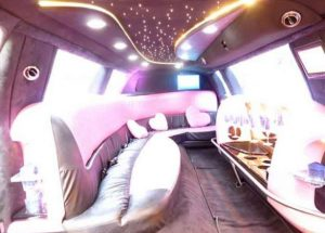 rome tours in limousine - Pink Limousine 8 seats 1 300x215 - Rome tours in Limousine