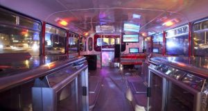 rome tours in limousine - nglish Bus Double Decker bus Two story Bus 1 300x160 - Rome tours in Limousine