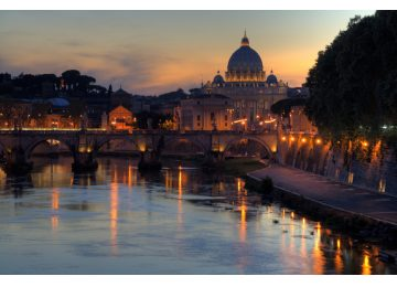 Rome river cruise – Rome River Boat dinner on the Tiber River. Join a cruise Tour with dinner. Boat tours along the Tiber. Rome night cruises romantic tours rome in two days - 3040943940 585372d877 b 1 360x260 - Rome in two days