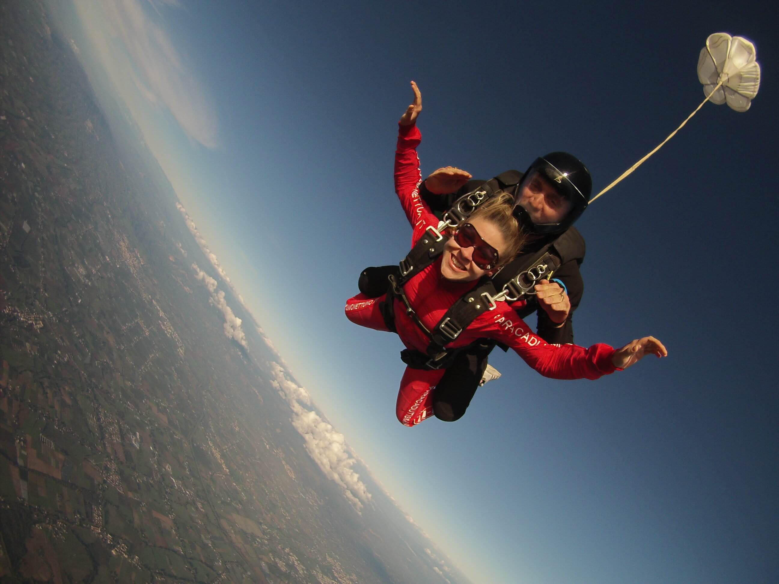 Roma Lancio con paracadute