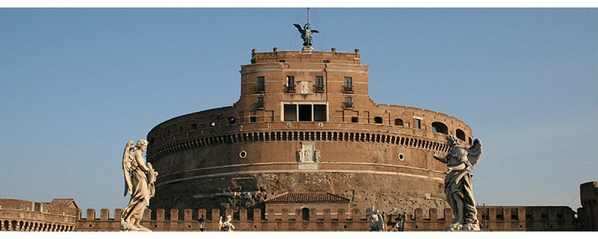roma tour storico - Sant Angelo 1200x480 - Roma Tour Storico Archeologico con disegno dal vivo
